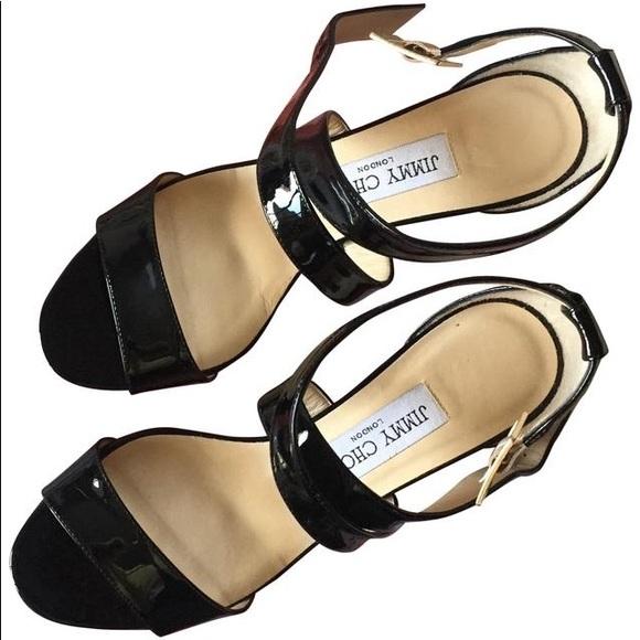 Jimmy Choo Chiara Wedge Sandals